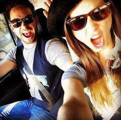 Troian Bellisario and boyfriend Patrick J. Adams!! :)
