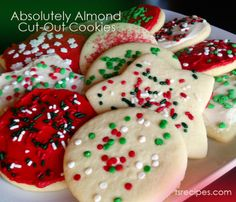 Absolutely Almond Cut-Out Cookies!  Our Mixes are SO versatile!  Not only can you make THE best Absolutely Almond Pound Cake...but you can make it cut-out cookie delicious dough!!   www.tastefullysimple.com/web/bsmith13