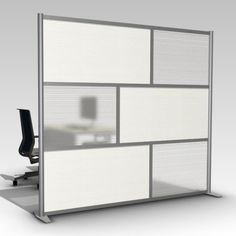 perspex office partition - Google Search