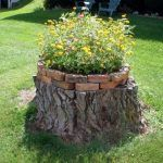 Tree Stump For Garden Art_35