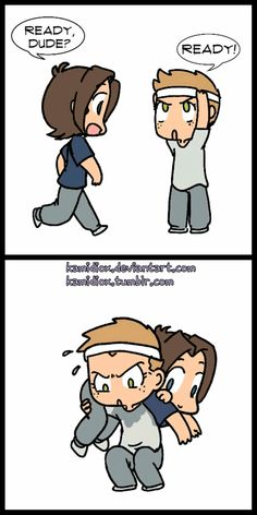 [GIF] Work it Jensen #Supernatural fanart credits by  kamidiox AWWWW <3 <3 #Jensen #Jared