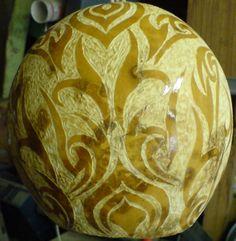 Carved berimbau