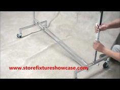 Adjustable Rolling rack assembly