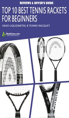Best Tennis Rackets for Beginners Ultimate List (March) Best Tennis Rackets, Head Tennis, Muscle Power, Great Power, Sports Medicine, Buyers Guide, Female, Products, Gadget