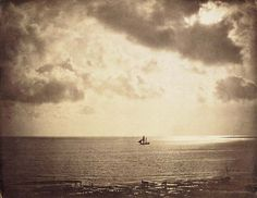 Brig on the Water Gustave Le Gray c.1856