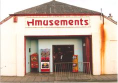 Tigerlilly Quinn: beautiful photography, borth, wales, amusement arcade