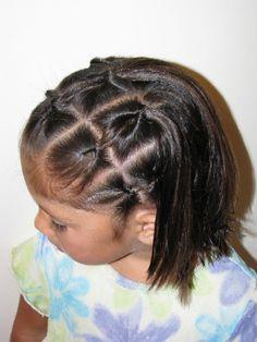 Small Knots Hair Do » HairStylesByMommy.com | HairStylesByMommy.com