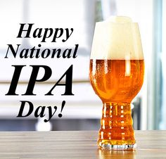 August 7 is National IPA Day
