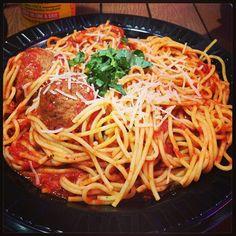 Spaghetti and Meatballs – a great choice! #BMPPGlendale  www.bigmamaspizza.com/locations/glendale/ Phone: (818) 242-6262