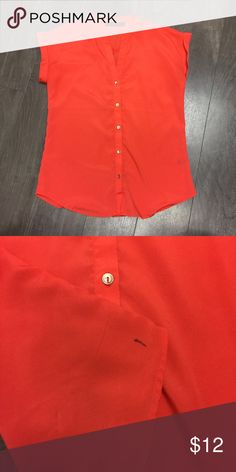 The limited blouse In great condition, has one stain in the bottom right corner on the back or the shirt The Limited Tops Blouses