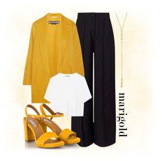 Marigold Contest by kintrona on Polyvore featuring polyvore fashion style Vince Rochas Miss Selfridge Fratelli Karida Jennifer Meyer Jewelry clothing