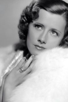 American film actress and singer of the 30s and 40s, Irene Dunne