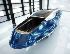 Un concept de yacht de luxe inspiré de la Rolls Royce Phantom