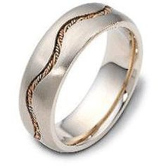 Buying - 7.00 mm Rope Braid 14K Gold Dora Wedding Band