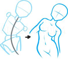 Body Drawing Tutorial, Sketches Tutorial, Step By Step Sketches, Drawing Base, Figure Drawing, Manga Drawing, Drawing Reference Poses, Drawing Guide, Art Drawings Sketches Simple
