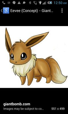 Eevee very pretty and magestic like