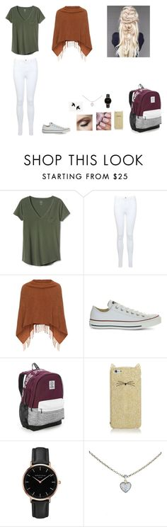 """""""Untitled #49"""" by martaalmeida-i on Polyvore featuring Gap, Miss Selfridge, Samoon, Converse, Victoria's Secret, Kate Spade, Topshop and Cartier"""