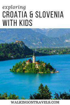 Road Trip Itinerary for Slovenia and Croatia with Kids Travel Around Europe, Travel Around The World, Holiday Destinations, Travel Destinations, Travel Tips, Slovenia Travel, Bled Slovenia, Voyage Europe, Croatia