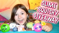 MOCHI SEAL SQUISHIES AND SLIME PACKAGE & GIVEAWAY! | Sedona Fun Kids TV