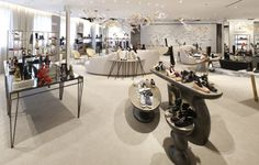 Saks Fifth Avenue Showcases Footwear With a Freestanding Format