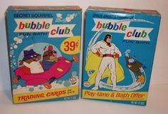 "cryptofwrestling: "" C. Secret Squirrel, Space Ghost, Best Bath, Classic Cartoons, Bubble Bath, Trading Cards, Bubbles, Childhood, Club"