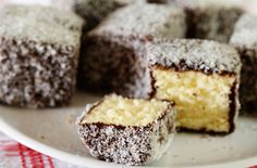 These light fluffy sponge cakes dipped in chocolate icing and coated in desiccated coconut are a national institution in Australia where they are served for afternoon tea. In New Zealand they are coated in raspberry jam rather than chocolate icing, both are so delicious. The Lamington is said to have been named after Lord Lamington, who was governor of Queensland from 1896 to 1901. His chef was asked to make cakes for unexpected guests and cut up some sponge cakes, dipped it in chocolate…
