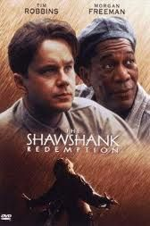 "My second favorite movie.  Great movie adapted from Stephen King's short story, ""Rita Hayworth and the Shawnshank Redemption."""