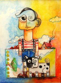 Título: Euzébio - Cód 1010 PA AF - Técnica Mista Arte Francesa Pintura Acrílica sobre Tela e Arte Digital sobre Tecido - Artista Edson Verti -  80x100 Cód 014