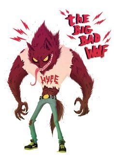 The big bad wolf.
