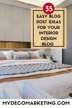 Are you stuck for ideas for your interior design blog? How would you like 35 instant ideas from an experienced interiors blogger that you can write about today #interiordesign #interiorsblog #mydecomarketing Interior Blogs, Best Interior, Luxury Interior, Interior Inspiration, Interior Design Business, Design Blogs, Decorating Blogs, Luxury Living, Content Marketing