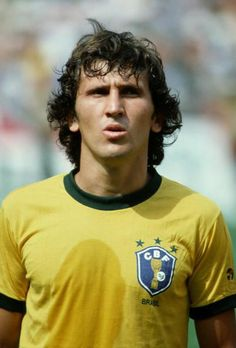 Z is for ZICO: The 'White Pele' was a member of the 1982 Brazilian national team, widely regarded as the best side NEVER to win the World Cup. He scored 48 goals in 71 caps for his country.