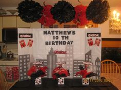 Great Photos roblox party ideas - Yahoo Image Search Results Suggestions Your little one is actually 1 today as well as you should party ! 🙂 Regarding mums, the initial 9th Birthday Parties, 10th Birthday, Birthday Party Decorations, It's Your Birthday, Birthday Ideas, Party Kulissen, Party Time, Party Ideas, Minecraft Party