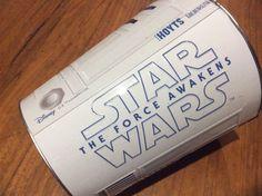 STAR WARS The Force Awakens R2D2 Motif Embossed Tin Bucket 130oz 3.8L Hoyts  | eBay