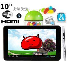 Tablette tactile 10 pouces capacitif Android 4.1 Wifi HDMI 3D. http://www.yonis-shop.com/tablette-tactile-10-pouces/1624-tablette-tactile-10-pouces-capacitif-android-4-1-wifi-hdmi-3d-8go.html