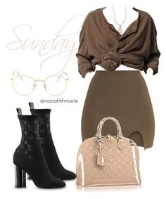 Fashion Look Featuring Rebecca Minkoff Mini Skirts and Louis Vuitton Duffels & Totes by mariahhhmarie - ShopStyle Classy Outfits, Sexy Outfits, Stylish Outfits, Fall Outfits, Fashion Outfits, Womens Fashion, Look Fashion, Autumn Fashion, Fashion Beauty