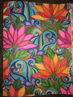 From Floral Wonders Color Art for Everyone - Imgur