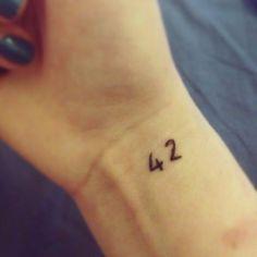 42 tattoo
