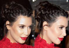 K.Kardashian braids @ashtonmartin24