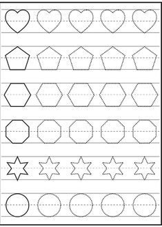 30 Free Shapes Worksheets to Color 001 Free Traceable Worksheets Shapes 1 001 The children can enjoy Number Worksheets, Math Worksheets, Alphabet Worksheets, . Shape Worksheets For Preschool, Shapes Worksheet Kindergarten, Math Coloring Worksheets, Free Printable Math Worksheets, Homeschool Worksheets, Shapes Worksheets, Preschool Writing, Number Worksheets, Alphabet Worksheets