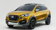 The Datsun Go-Cross concept is based on the Datsun Go+; previews a future production model.