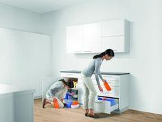 Ergonomische keuken: keukenkastje versus keukenlade.