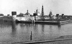 В апреле 1908 года Москва превратилась в Венецию на 5 дней. Это наводнение одно из самых крупных в столице.