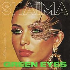 """Shaima, singer, songwriter and self-taught producer from West London melds the traditional elements and instruments of her cultural identity with modern western beats while displaying her unique voice on her latest single, """"Green Eyes"""". Thick Skin, Upcoming Artists, Cultural Identity, Old Singers, West London, Music Industry, Green Eyes, New Music, Assertiveness"""