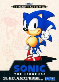 The best artwork for Sonic the hedgehog. From the European version.