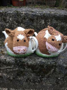 Guernsey Cow Tea Cosies