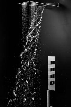 #papapolitis #armandovicario #bath #bathroomdesign #amazing #elegant #showerhead #technology #concept #inox #multispray #slim #design #shower #collection #bathideas Shower Systems, 3ds Max, Shower Heads, Concept, Letters, Slim, Technology, Bathroom, Elegant