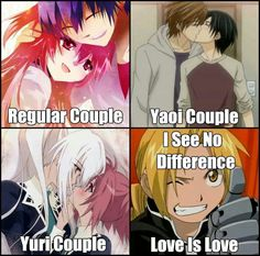 Deal with it. Equal love for all!