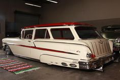 Wow!  Not sure I've even seen a picture of a 58 Chevy wagon before and this is amazing!