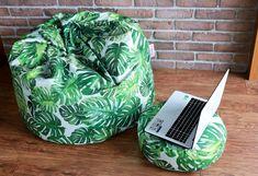 worek sako od Italpouf - idealne miejsce do wypoczynku, czytania książki czy pracy na komputerze