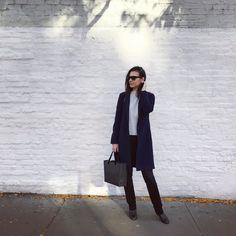 Видишь белую стену - пили лук! #lizaonair #soho #newyork #осень